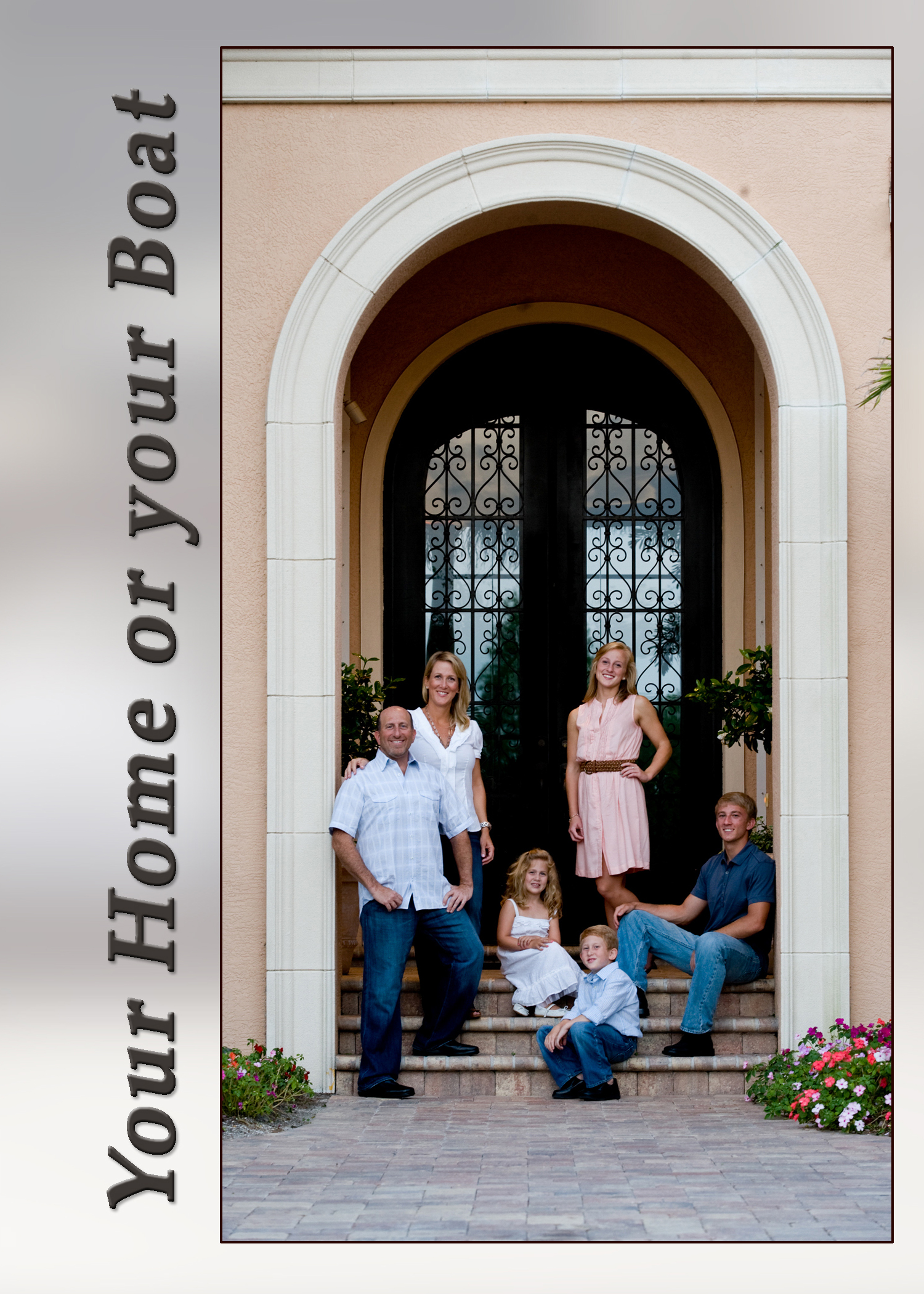 Family Portraits on location, at your home, Lakewood Ranch